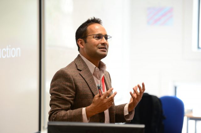 Alom Shaha is a part-time science teacher, producer and director of the Royal Institution's. His talk looked at how even science teachers struggle to be scientific when it comes to teaching.