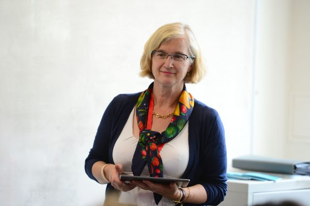 Amanda Spielman, Chair of Ofqual, delivers a research related session