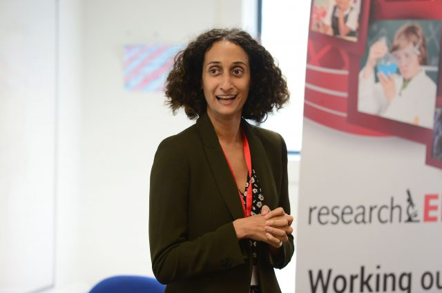 Katharine Birbalsingh is Headmistress at Michaela Community School, a free school in Wembley Park. Her talk was called 'Performance-related pay does not work'.