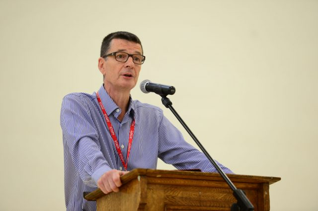 Raine's Foundation head John Bradshaw speaks as reseachED 2014 begins