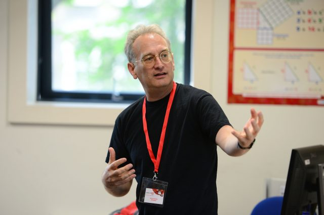 Wayne Holmes is a researcher at the London Knowledge Lab (Institute of Education) and spoke about the evidence base for educational technology.
