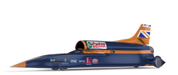 Design of the Bloodhound SSC car