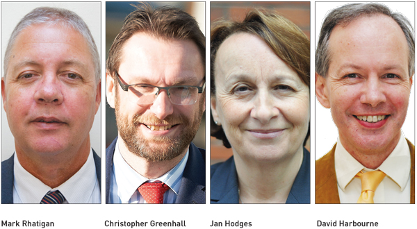 Edition 24: Mark Rhatigan, Christopher Greenhall, Jan Hodges, David Harbourne and Ofsted