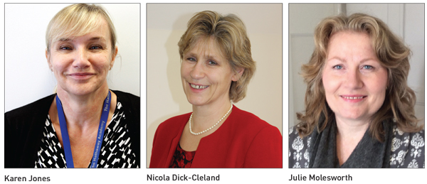 Edition 23: Karen Jones, Nicola Dick-Cleland and Julie Molesworth