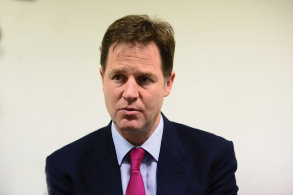 Nick Clegg weighs in over decision to end funding for small schools' free meals support