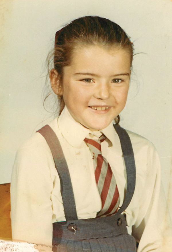 Kate at primary school