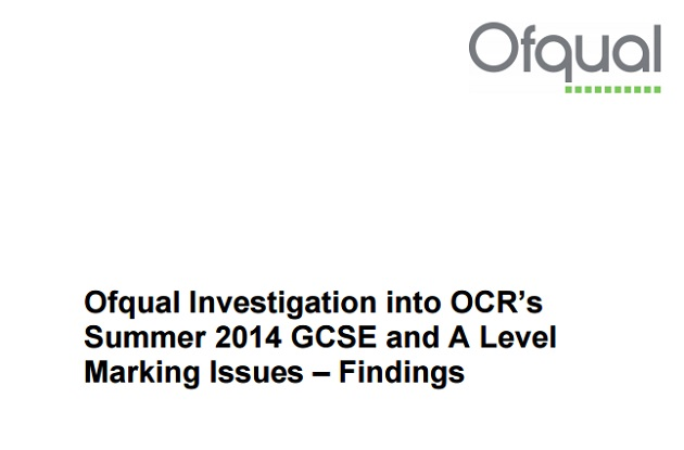 OCR's exam results near-miss: what went wrong?