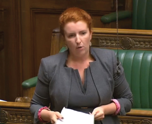 Haigh in Parliament