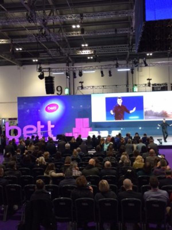 Bett 2016, Day One: Nicky Morgan tells teachers to use technology to reduce workload