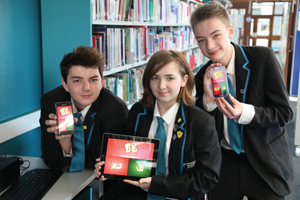 Students' app could save a life