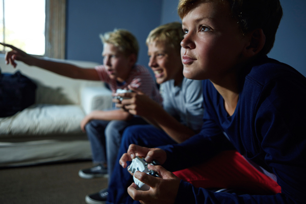 Gaming is 'good for children's brains', study suggests