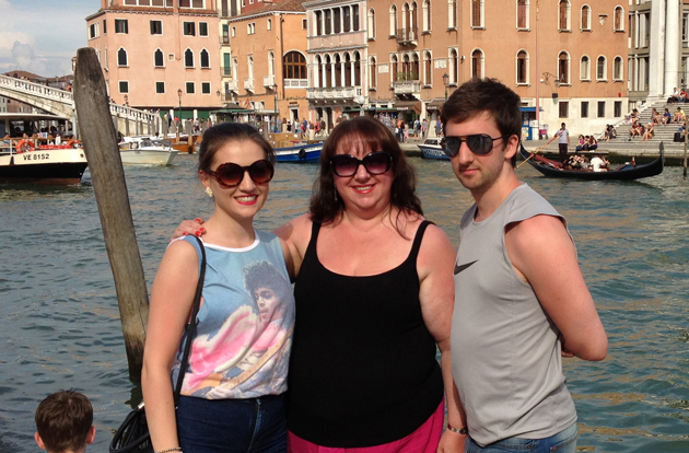 In Venice with Emily and Joseph