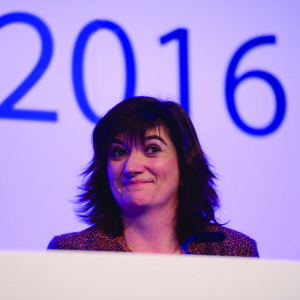 Nicky Morgan ASCL 19 - POSS FRONT