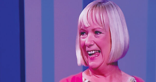 Bayliss on BBC One's quiz show, Think Tank, earlier this year. She won £2,200 which she gave to a Kenyan charity