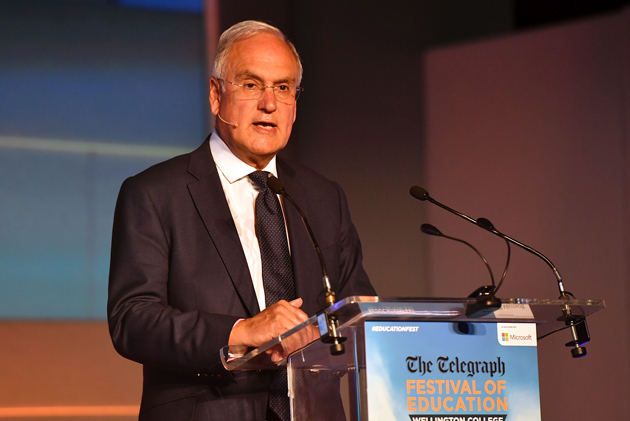 "Sir Michael Wilshaw: I rate my time in office as ""Ofsted outstanding"""
