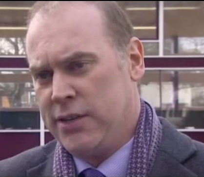 Averre-Beeson appearing on the BBC Politics Show in 2011
