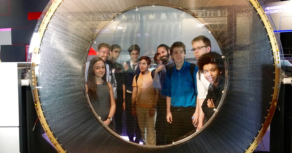 Bethnal Green students meet the Hadron Collider in nuclear physics trip