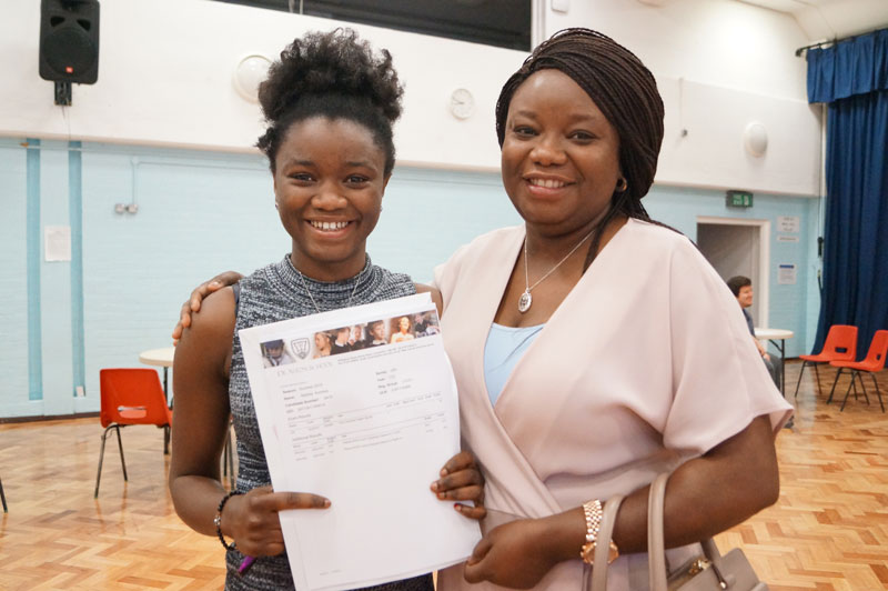 Matilda waltzes her way to GCSE success