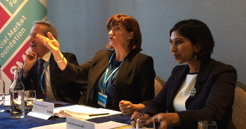 Four things we learned from Nicky Morgan at Conservative conference