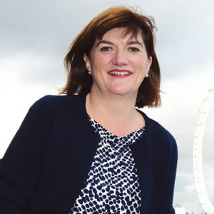 Nicky Morgan, former education secretary