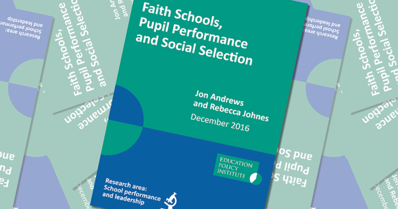 More faith schools 'unlikely' to boost social mobility