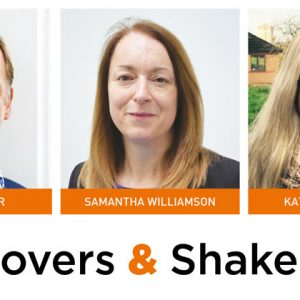 Movers & Shakers: Robin Gainher, Samantha Williamson and Kate Bowen-Viner