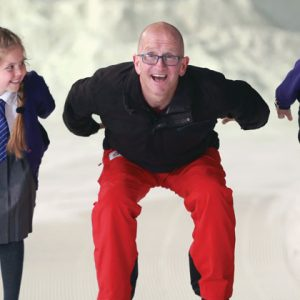 Eddie the Eagle backs campaign to get schoolchildren into snowsports
