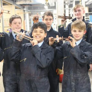 Bury College hosts after-school plumbing club for pupils across Lancashire